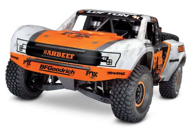Traxxas C-TRX85076-4 Unlimited Desert Racer 4WD TSM 1/7th Orange